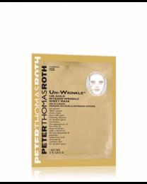 Peter Thomas Roth Un-Wrinkle® 24K Gold Iintense Wrinkle Sheet Mask Travel Size